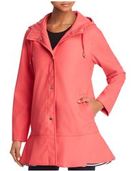 Kate Spade Peplum Raincoat - Pink