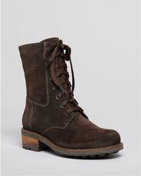 La Canadienne - Carolina Waterproof Lace Up Boots - Lyst