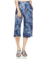 BCBGeneration - Printed Tie-dye Culottes - Lyst