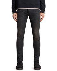 AllSaints - Cigarette Skinny Fit Jeans - Lyst