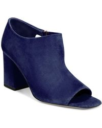 Via Spiga - Women's Eladine Open Toe Block-heel Booties - Lyst