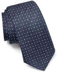John Varvatos - Melange Dot Classic Tie - Lyst