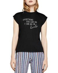 BCBGeneration - Everything You Can Do Muscle Tee - Lyst