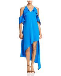 Adelyn Rae - Cold-shoulder Dress - Lyst