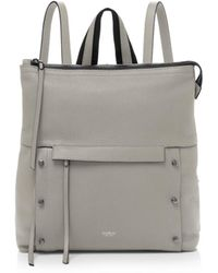 Botkier Noho Leather Backpack - Gray