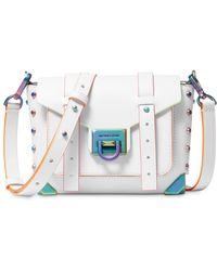 MICHAEL Michael Kors - Manhattan Small Leather Bag - Lyst