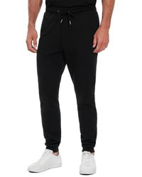 Robert Graham Cobb Classic Fit Knit Trousers - Black