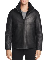 Andrew Marc - Trailblazer Faux Fur & Leather Jacket - Lyst
