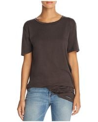 Project Social T - Lugo Distressed Tunic Tee - Lyst