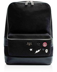 Zadig & Voltaire - Arizona Canvas & Leather Backpack - Lyst