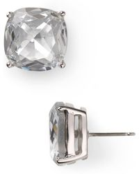 Kate Spade - Small Square Stud Earrings - Lyst