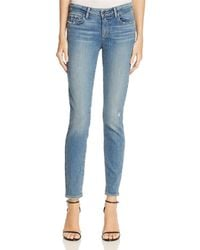 PAIGE Verdugo Ankle Jeans In Sienna - Blue