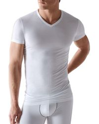 Calvin Klein - Body Modal V-neck Neck Tee - Lyst