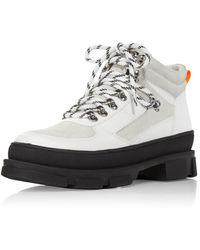Aqua Hiker Boots - White