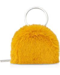 Whistles - Faux-fur Key-ring Purse - Lyst