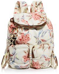 See By Chloé - Joy Rider Medium Denim Backpack - Lyst