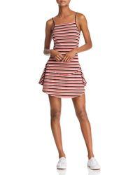 The Fifth Label - Parad Stripe Rib Knit Dress - Lyst