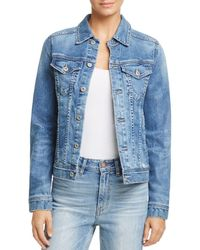 AG Jeans Led Denim Jacket In 10 Years Mnetic Blue