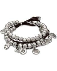 Uno De 50 What A Mess Bracelet - Metallic