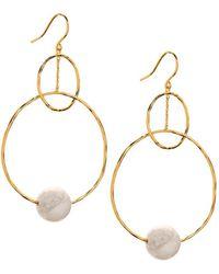 Gorjana - Interlocking Drop Earrings - Lyst