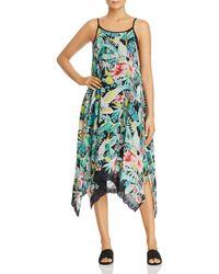 Johnny Was - Lomi Floral-print Midi Tank Dress - Lyst