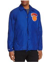 Mitchell & Ness - New York Knicks Nba Coach Jacket - Lyst