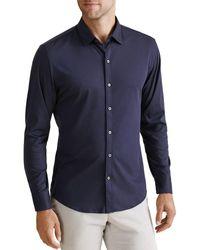 Zachary Prell Lam Regular Fit Sport Shirt - Blue