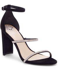 Vince Camuto Women's Fairah Strappy High Heel Sandals - Black