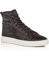 Paul Smith Men's Dreyfuss Nylon High - Top Sneakers - Black