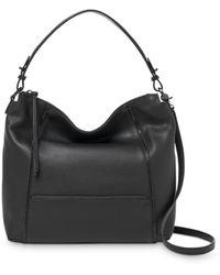Botkier Soho Medium Leather Hobo Bag - Black