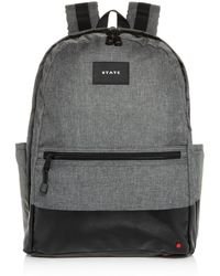 State Bedford Heathered Dip Backpack - Gray