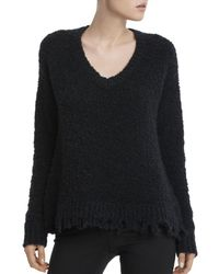 ATM - Destroyed Chenille Sweater - Lyst