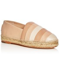 6163db521 Opening Ceremony - Woman Ariahna Color-block Leather Espadrilles Neutral -  Lyst