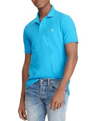 Polo Ralph Lauren - Classic Fit Stretch Mesh Polo Shirt - Lyst