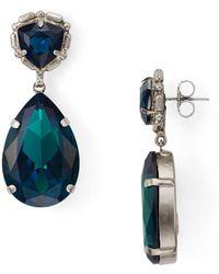 Sorrelli Yucca Drop Earrings - Blue