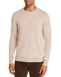 Bloomingdale's The Store At Bloomingdale's Cashmere Crewneck Sweater - Natural