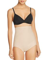 57ca68923d9d Tc Fine Intimates Extra Firm Control High-waist Brief #4095 in Natural -  Lyst