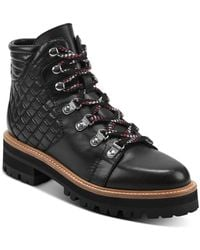 Marc Fisher Women's Irme Hiker Boots - Black