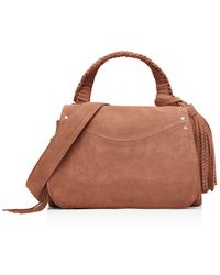 Elizabeth and James - Trapeze Small Suede Crossbody - Lyst