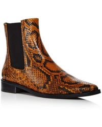 Frēda Salvador Women's Pointed Toe Chelsea Boots - Brown
