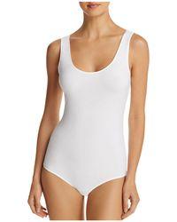Hanro - Cotton Sensation Tank Bodysuit - Lyst