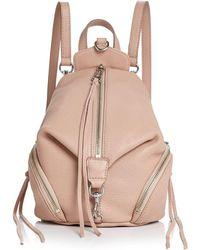 Rebecca Minkoff Julian Convertible Mini Leather Backpack - Multicolour