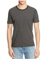 7 For All Mankind - Striped Tee - Lyst