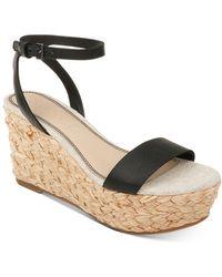 Splendid Women's Marie Espadrille Platform Wedge Sandals - Natural