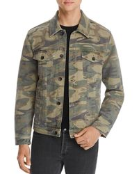 7 For All Mankind Camouflage Print Trucker Jacket - Multicolour