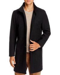 Theory Regular Fit Belvin Coat - Black
