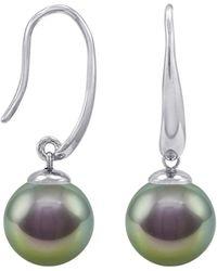 Majorica - Simulated Pearl Drop Earrings - Lyst