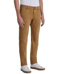 AG Jeans - Tellis Slim Fit Jeans In 7 Years Sulfur Roasted Seed - Lyst