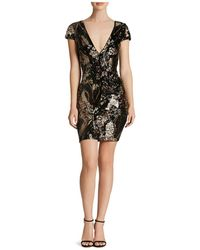 Dress the Population - Zoe Sequin Dress - Lyst
