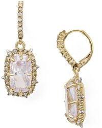Alexis Bittar Crystal Drop Earrings Earring - Metallic